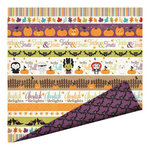 Imaginisce - Monster Mash Collection - Halloween - 12 x 12 Double Sided Paper with Glossy Accents - Fall Medley