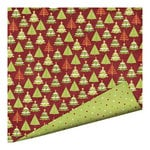 Imaginisce - Christmas Cheer Collection - 12 x 12 Double Sided Paper with Glossy Accents - Happy Winter