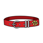 Imaginisce - Good Dog Collection - Snag 'em Acrylic Stamps - Collar