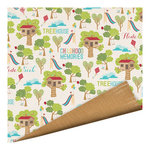 Imaginisce - Childhood Memories Collection - 12 x 12 Double Sided Paper - Tree House