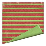 Imaginisce - Endless Summer Collection - 12 x 12 Double Sided Paper - Watermelon