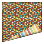Imaginisce - Endless Summer Collection - 12 x 12 Double Sided Paper - Creamsicle