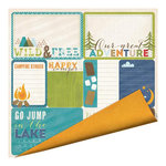 Imaginisce - Outdoor Adventure Collection - 12 x 12 Double Sided Paper - Campfire Stories
