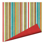 Imaginisce - Outdoor Adventure Collection - 12 x 12 Double Sided Paper - Canvas Stripe