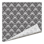 Imaginisce - Black Ice Collection - 12 x 12 Double Sided Paper - Royal Damask