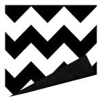 Imaginisce - Black Ice Collection - 12 x 12 Double Sided Paper - Strike it Bold
