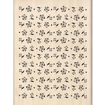 Inkadinkado - Spring Collection - Wood Mounted Stamps - Flower Background