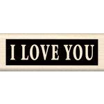 Inkadinkado - Wood Mounted Stamps - I Love You