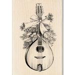 Inkadinkado - Sketches Collection - Christmas - Wood Mounted Stamps - Festive Mandolin