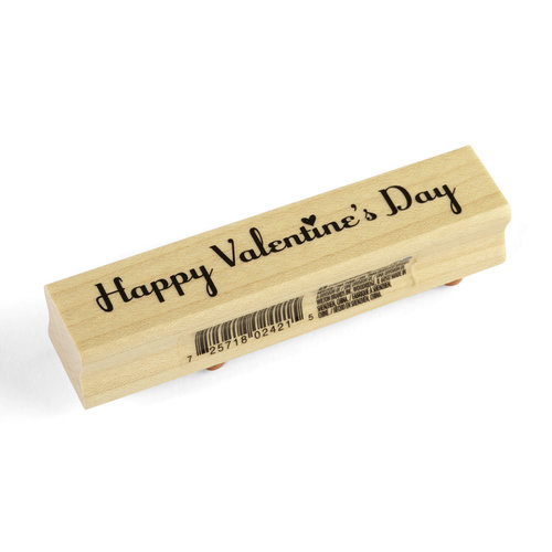 Inkadinkado - Valentine's Day Collection - Wood Mounted Stamps - Happy Valentines Day