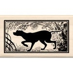 Inkadinkado - Wood Mounted Stamps - Heirloom Dog Print