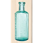 Inkadinkado - Photo Realistic Collection - Wood Mounted Stamps - Bitters Bottle