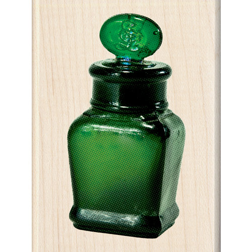 Inkadinkado - Photo Realistic Collection - Wood Mounted Stamps - Ink Bottle
