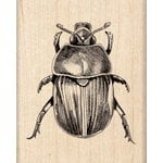 Inkadinkado - Sketches Collection - Halloween - Wood Mounted Stamps - Scarab