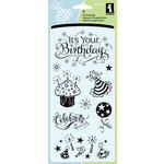 Inkadinkado - Clear Acrylic Stamp Set - It's Your Birthday