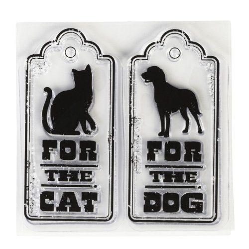 Inkadinkado - Clear Acrylic Stamps - Mini Spoil Your Pet