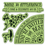 Inkadinkado - Inkadinkaclings Collection - Rubber Stamps - Party Invites