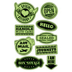 Inkadinkado - Inkadinkaclings - Rubber Stamps - Delivery Labels