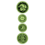 Inkadinkado - Inkadinkaclings - Rubber Stamps - Old Coins