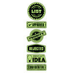 Inkadinkado - Inkadinkaclings - Rubber Stamps - Office Labels