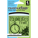 Inkadinkado - Inkadinkaclings - Rubber Stamps - Family Time Mini