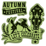 Inkadinkado - Fall Collection - Inkadinkaclings - Rubber Stamps - Harvest Festival Signage