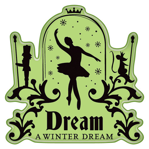 Inkadinkado - Bavarian Christmas Collection - Inkadinkaclings - Rubber Stamps - Ballet Dream