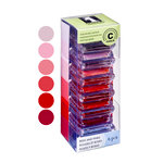 Inkadinkado - Stackables - Chalk Inkpad Set - Reds and Pinks, CLEARANCE