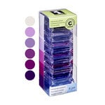 Inkadinkado - Stackables - Chalk Inkpad Set - Purples and Lavenders