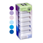 Inkadinkado - Stackables - Dye Inkpad Set - Blues and Purples