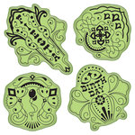 Inkadinkado - Stamping Gear Collection - Inkadinkaclings - Rubber Stamps - Birthday Fiesta