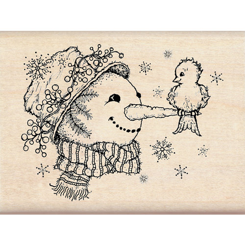 Inkadinkado - Christmas - Wood Mounted Stamps - Snow Friends