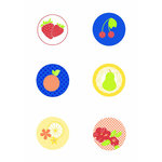 Jinger Adams - Sweet Tart Collection - Chipboard Buttons