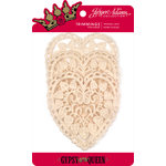 Jinger Adams - Gypsy Queen Collection - Vintage Lace Heart Doilies