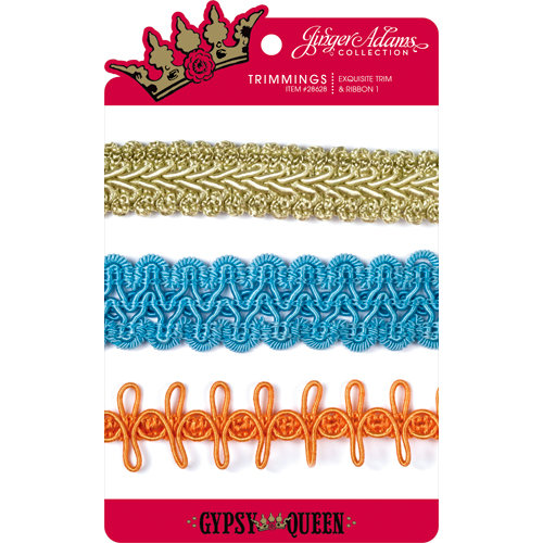 Jinger Adams - Gypsy Queen Collection - Exquisite Trim