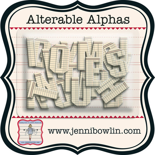 Jenni Bowlin - Alterable Alphas - Ledger