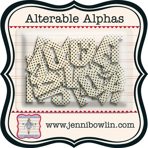 Jenni Bowlin - Alterable Alphas - Micro Dot
