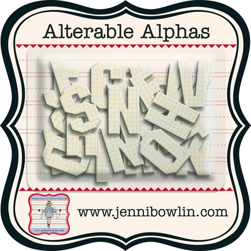Jenni Bowlin - Alterable Alphas - Graph