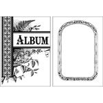 Jenni Bowlin Studio - Clear Acrylic Stamps - Photo Album