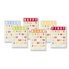 Jenni Bowlin Studio - Mini Bingo Cards - Birthday
