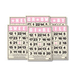 Jenni Bowlin Studio - Mini Bingo Cards - Baby Girl, CLEARANCE