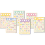 Jenni Bowlin Studio - Mini Bingo Cards - Spring Time, CLEARANCE