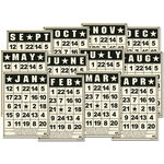 Jenni Bowlin Studio - Large Bling Cards - Calendar