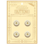 Jenni Bowlin Studio - Rhinetone Button Card - Yellow