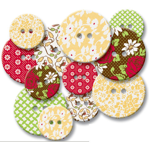 Jenni Bowlin Studio - Chipboard Buttons - Porch Swing, CLEARANCE