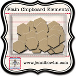 Jenni Bowlin Studio - Chipboard Shapes - Hexagons