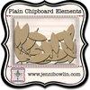 Jenni Bowlin Studio - Chipboard Shapes - Graphic Feather
