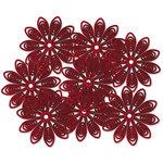 Jenni Bowlin - Doily Flowers - Red