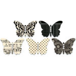 Jenni Bowlin Studio - Jewel Embellished Butterflies - Black