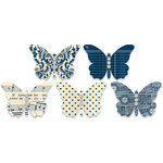 Jenni Bowlin Studio - Jewel Embellished Butterflies - Navy, CLEARANCE